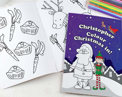 Personalised Christmas Book's