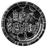 Birthday Glitz - Black & Silver