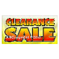 Clearance Items Adult