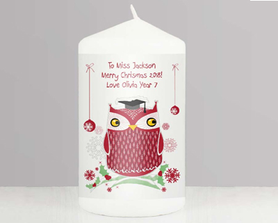 Personalised Christmas Candles, Diffusers & Lantern
