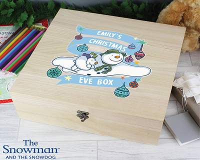 Personalised Christmas Wooden Boxes