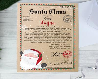 Personalised Santa Letters