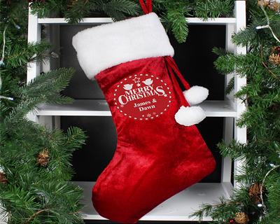 Personalised Christmas Hats, Stockings & Sacks