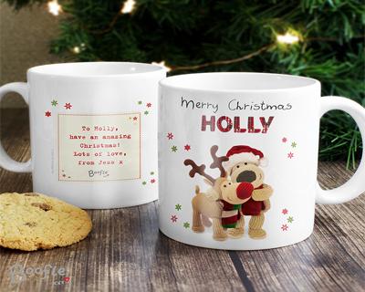 Personalised Christmas Mugs & Glassware