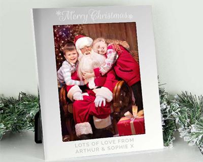 Personalised Christmas Photo Frames
