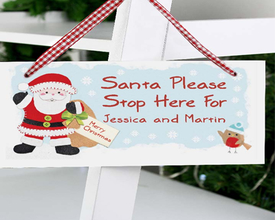 Personalised Christmas Signs