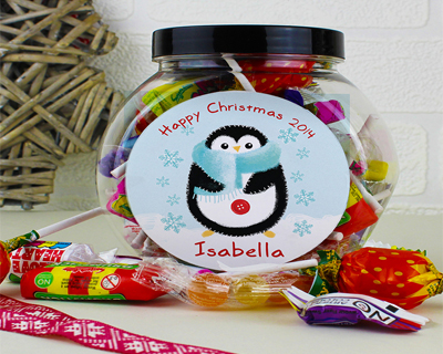 Personalised Christmas Sweets & Chocolate