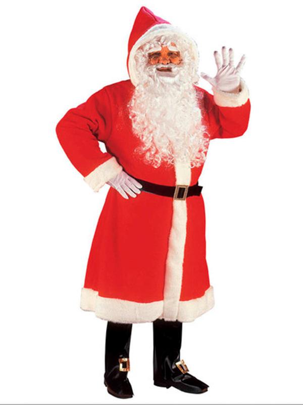 Santa Gown Super Deluxe Costume - Novelties (Parties) Direct Ltd