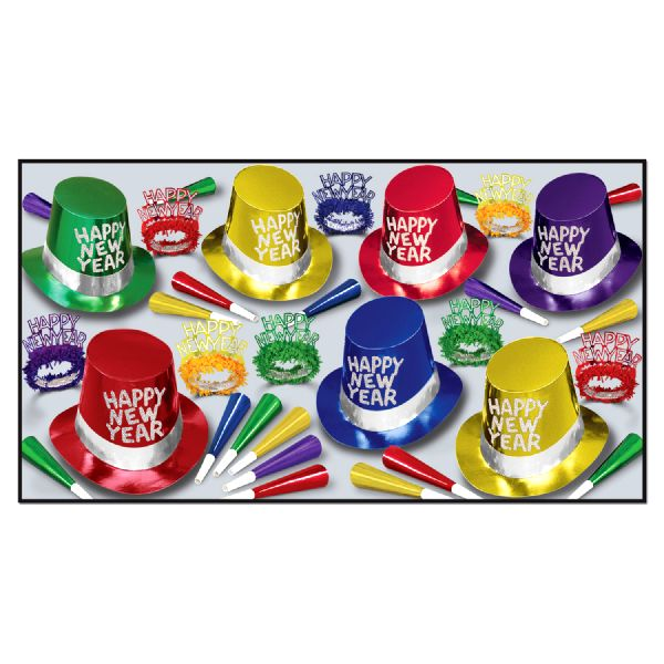 42nd Street New Years Eve Pack For 25 People - Novelties ...