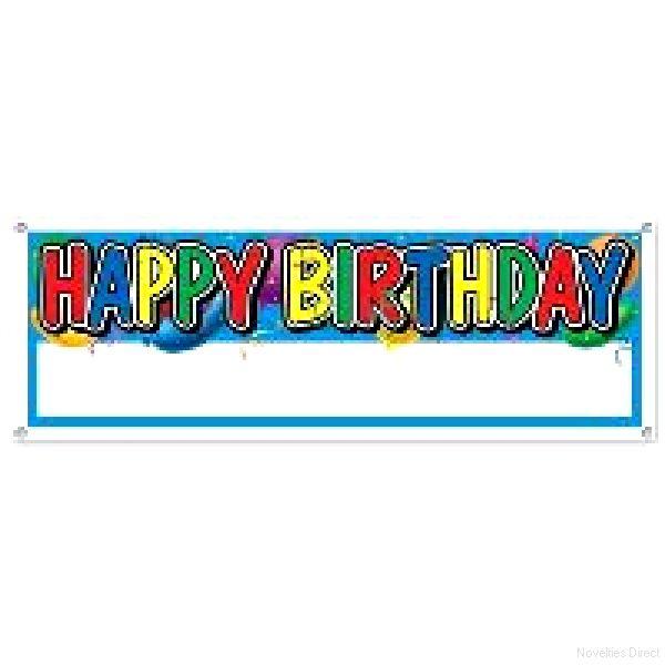 happy birthday blank sign banner massive novelties parties