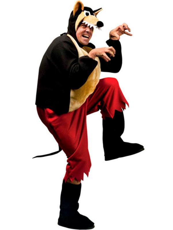 Big Bad Wolf Costume (Pants Coat Bcovers Headpiece Mask) - Novelties (Parties) Direct Ltd  sc 1 st  Novelties Direct & Big Bad Wolf Costume (Pants Coat Bcovers Headpiece Mask) - Novelties ...