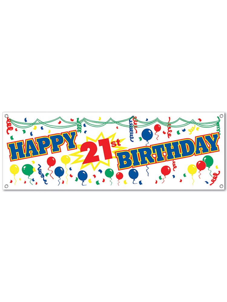21st Birthday Ideas Clip Art