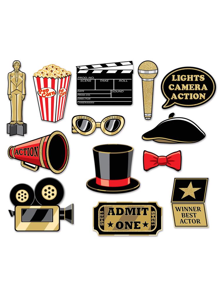 Awards Night Glittered Photo Fun Signs Novelties Parties Direct Ltd