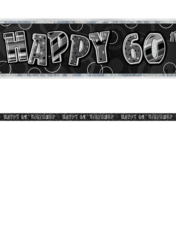 60th Birthday Prism Banner