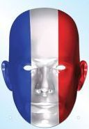 French bleu-blanc-rouge face mask