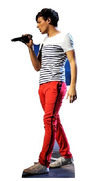 Louis Tomlinson One Direction Lifesize Cardboard Cutout Novelties Direct Novelties Parties Direct Ltd