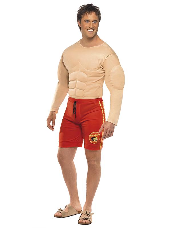 baywatch lifeguard men's costume  novelties parties