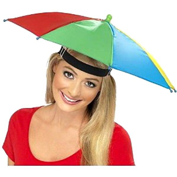 Wet weather supporters' British Brolly hat