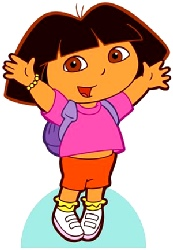 Dora the Explorer Cardboard Cutout