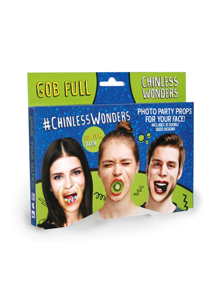 Gob Full Chinless Wonders Face Mats