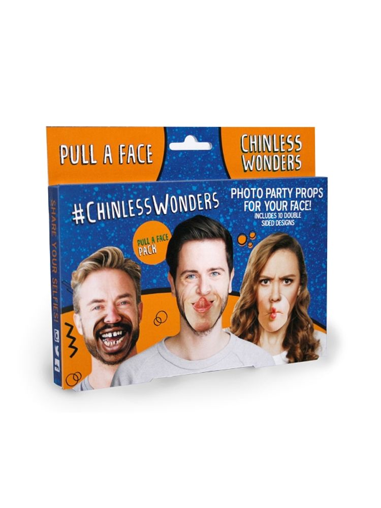 Pull A Face Chinless Wonders Face Mats