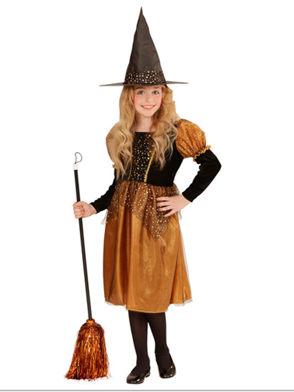 Toffee & Black Witch Costume