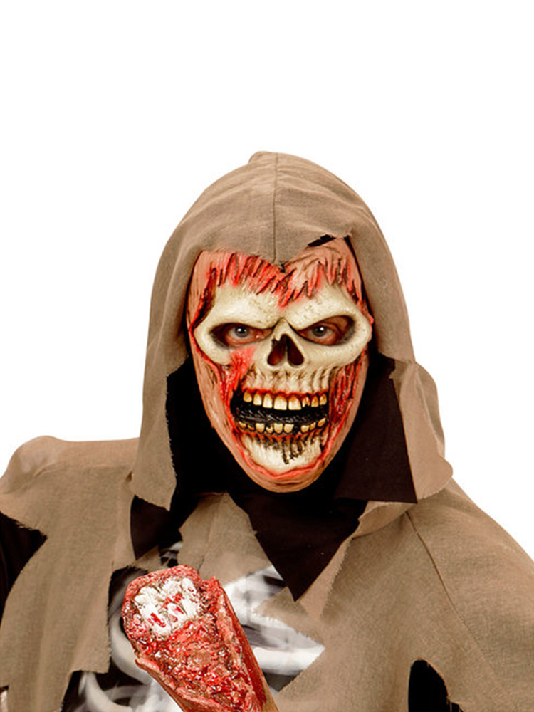 Soul Reaper Zombie Half Face Mask - Child