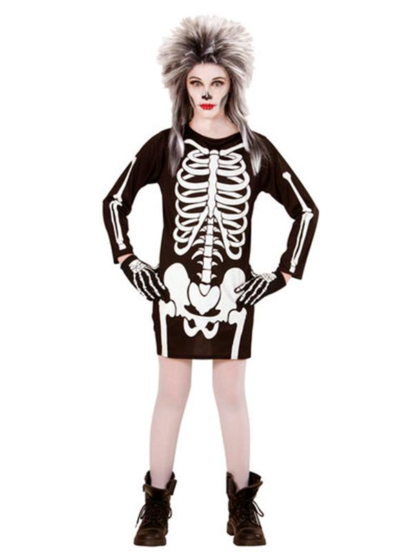 Skeleton Gal Costume