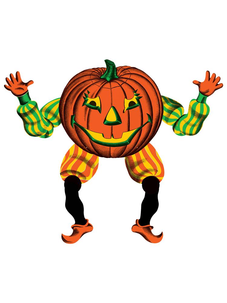 "Vintage Halloween Jointed Goblin 30"""