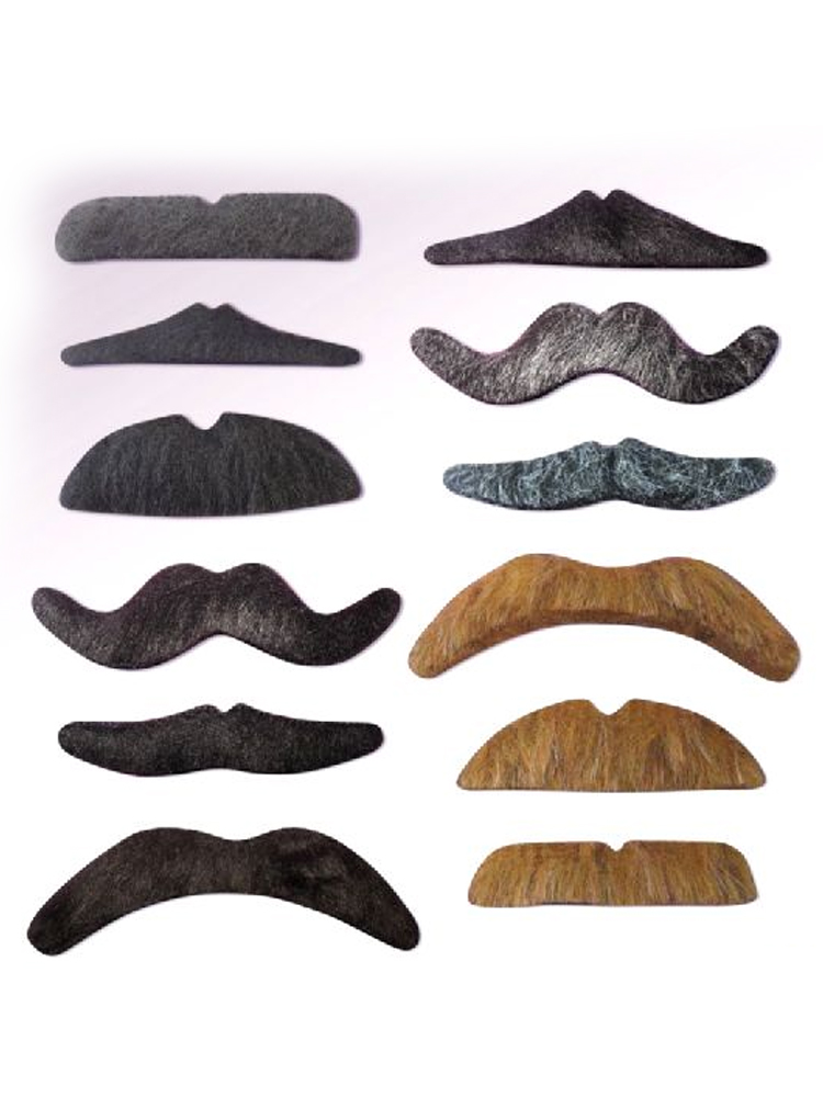 Moustache Card of Assorted Styles