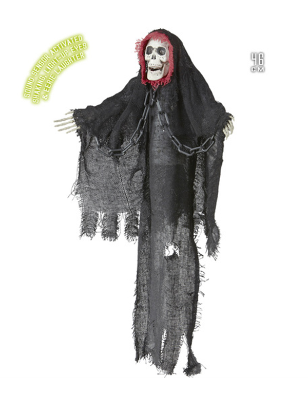 Animated Shaking Grim Reaper 46cm