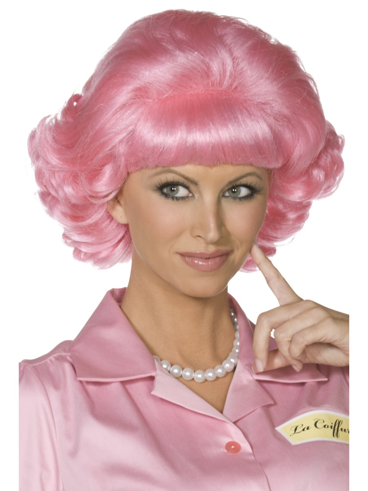 Frenchy Wig ,Pink