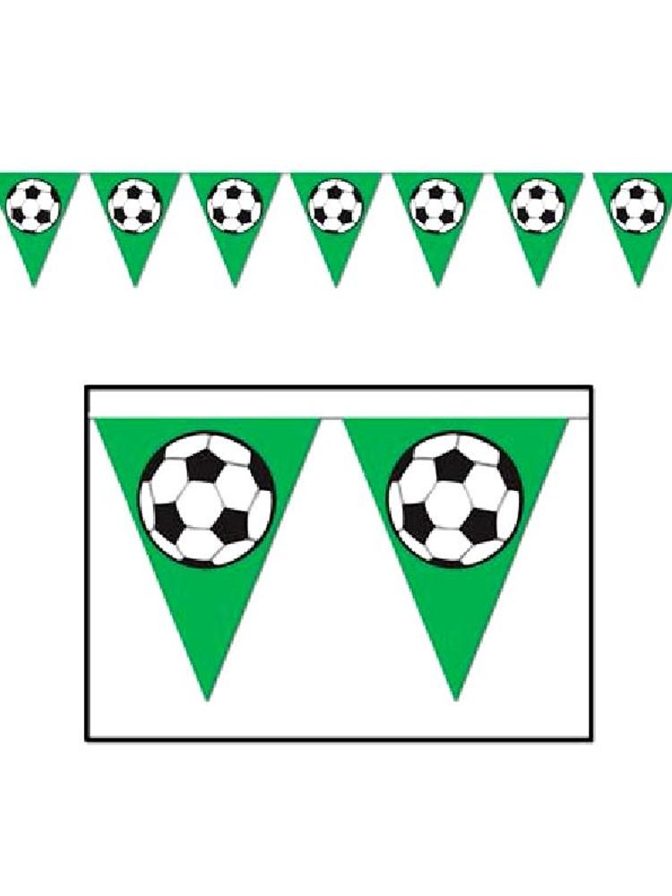 Football Flag Bunting 12ft