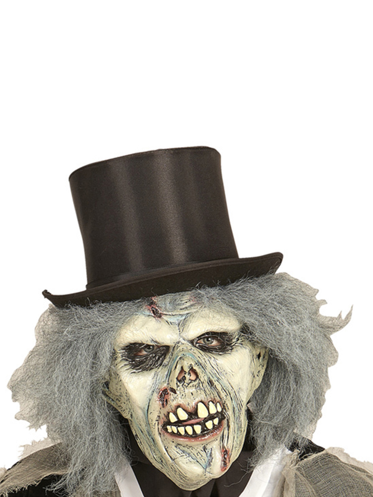 Zombie Mask with Wig