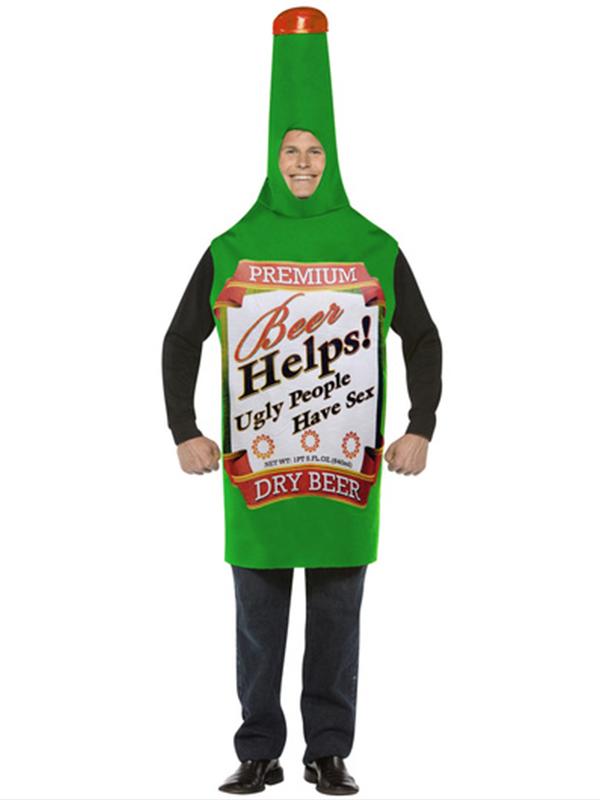 Beer Bottle Costume 12345