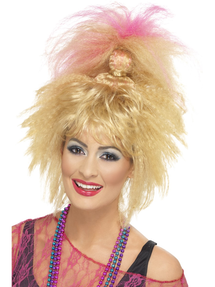 80'S Trademark Crimped High Ponytail