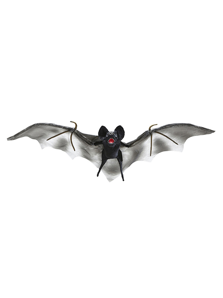 Bat With Color Changing Light Eyes And Wings 92 Cm - With Tr