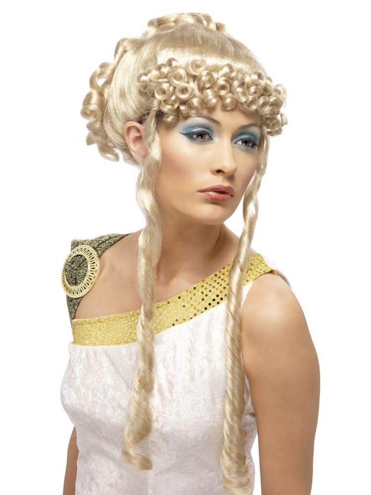 Greek Goddess Wig ,Blonde