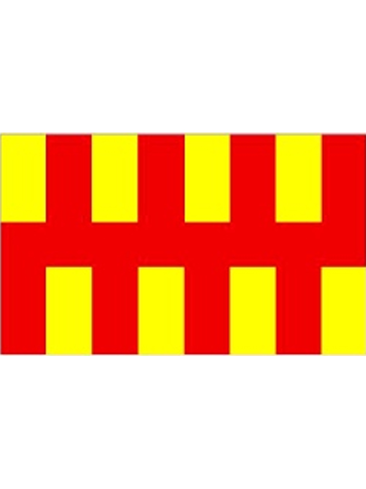 Northumberland Flag 5ft x 3ft (100% Polyester) With Eyelets For Hanging