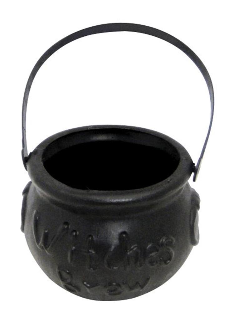 Black Witches Brew Cauldron 9cm