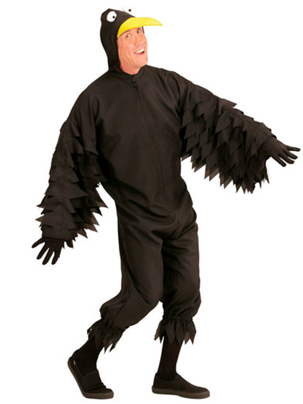 Crow (Hooded Jumpsuit With Mask)