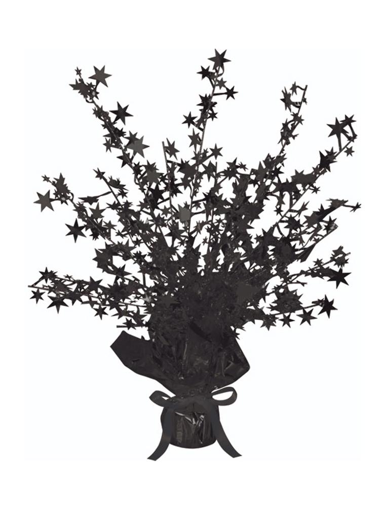 Star Gleam 'N' Burst Centrepiece Black (Quantity 1)