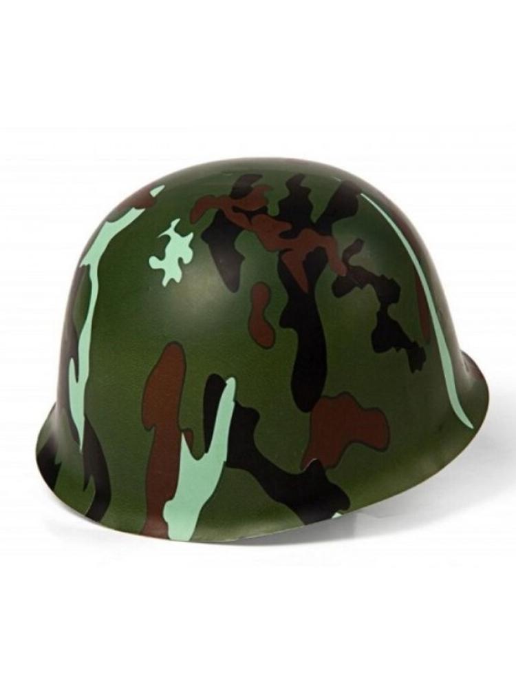 Plastic Army Camouflage Helmet