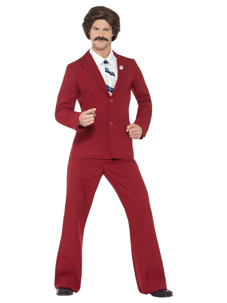 Anchorman Ron Costume