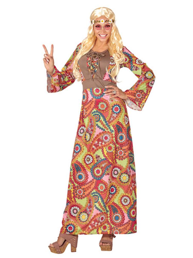 HIPPIE WOMAN (LONG DRESS)