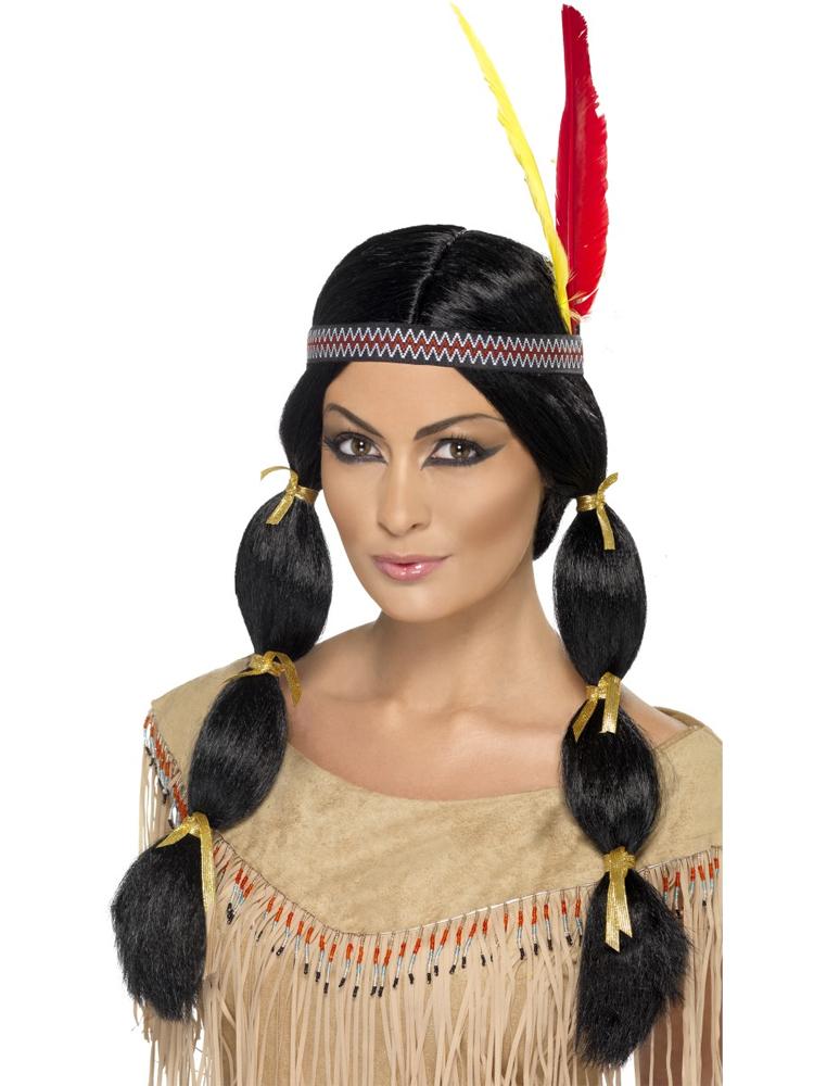 Indian Wig,Black