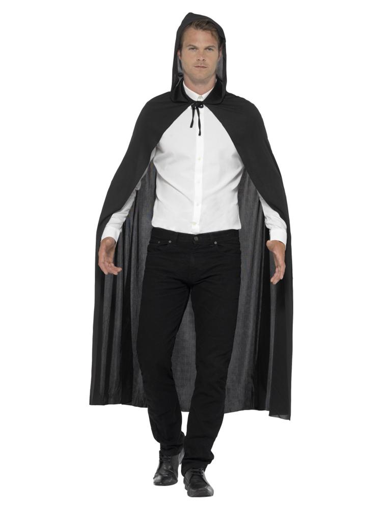 Hooded Vampire Cape, Black