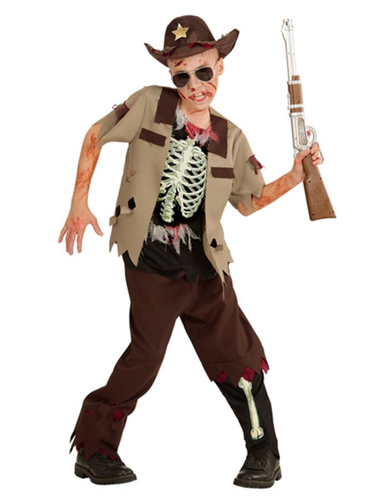 Zombie Sheriff Costume