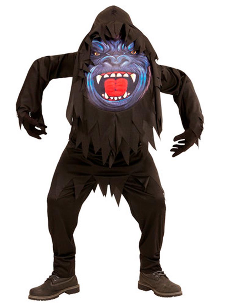 Gorilla Big Head Costume