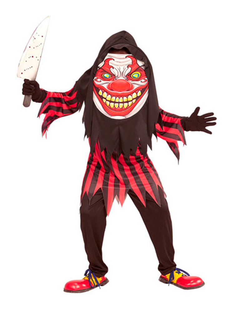 Horror Clown Big Head Costume